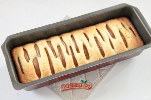 Творожный кекс с грушами - фото шаг 9