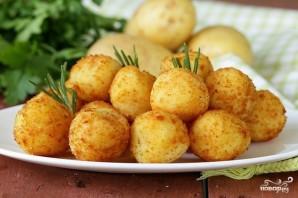Картофельные крокеты постные - фото шаг 5