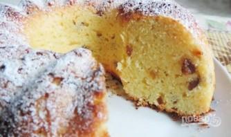 Творожный кекс с изюмом в духовке - фото шаг 5