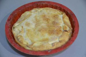 """Яблочный пирог """"Вуаль невесты"""" - фото шаг 18"""