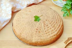 Пирог с фаршем на сметанном тесте - фото шаг 14