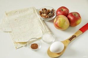 Яблочный штрудель диетический - фото шаг 1