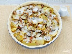 Открытый картофельный пирог - фото шаг 4