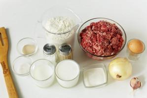 Мясной осетинский пирог - фото шаг 1