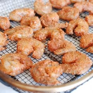 Паста с жареными креветками и лимонно-чесночным маслом - фото шаг 8