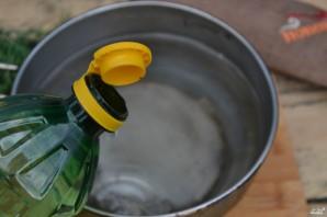 Маринованная цветная капуста с овощами - фото шаг 6
