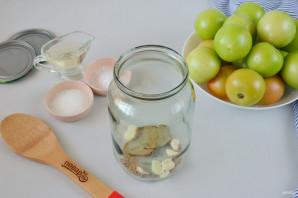 Рецепт маринованных зеленых помидоров