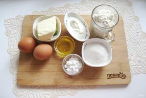 Сметанный торт с медовыми коржами - фото шаг 1