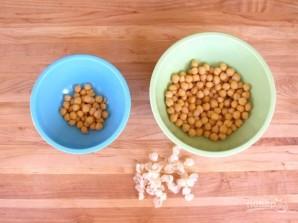 Хумус из авокадо и кинзы - фото шаг 1