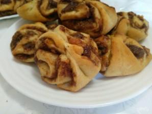 Дрожжевое печенье с шоколадным штрейзелем - фото шаг 13