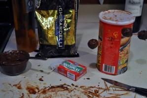 Кумкваты в шоколаде - фото шаг 4