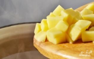 Картофельный суп с яйцом - фото шаг 2