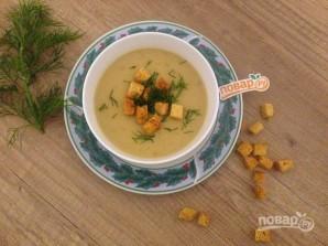 Луково-сельдерейный суп с грибами - фото шаг 9