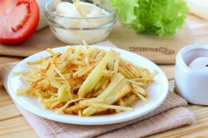 Картошка фри на мелкой терке - фото шаг 7