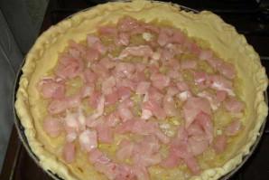 Открытый пирог с курицей - фото шаг 5
