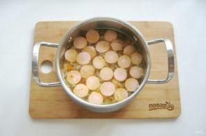 Суп с сосисками и рисом - фото шаг 7
