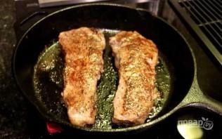 Стейк из говядины (очень вкусный) - фото шаг 4