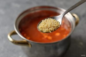"Суп с пастой ""Орзо"" - фото шаг 6"