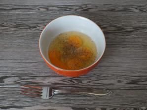Салат с кальмарами и блинами - фото шаг 6
