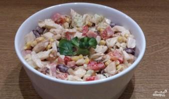 Мясной салат с болгарским перцем - фото шаг 4