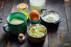 Манники с творогом на сковороде - фото шаг 1