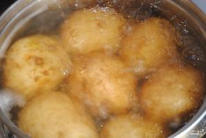 Картофельная запеканка с фаршем для детей - фото шаг 1