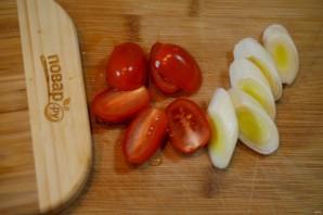Стейк лосося, запеченный с помидорами черри - фото шаг 4