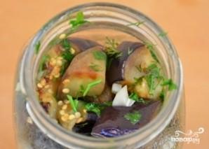 Баклажаны с чесноком соленые - фото шаг 5