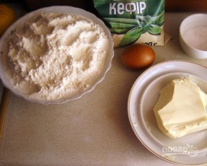 Бездрожжевое тесто для сладкого пирога - фото шаг 1