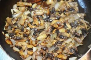 Пирожки-лодочки с сырно-грибной начинкой - фото шаг 3