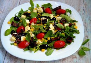 Итальянский салат с вялеными помидорами - фото шаг 8