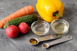 Карпаччо из овощей - фото шаг 1