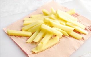 Картофель фри на сковороде - фото шаг 3