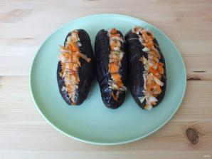 Квашеные баклажаны с капустой - фото шаг 9