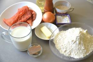 Пирог с рисом и горбушей - фото шаг 1