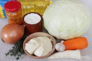 Картофельный пирог с капустой - фото шаг 6