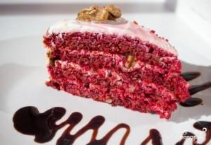 "Торт ""Красный бархат"" без красителя - фото шаг 10"