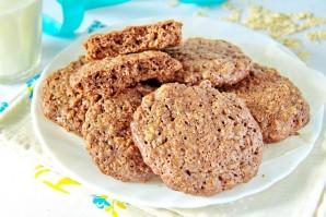 Шоколадное овсяное печенье - фото шаг 8