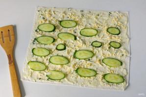 Лаваш со сливочным сыром - фото шаг 7