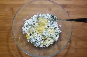 Киш со шпинатом и сыром - фото шаг 9
