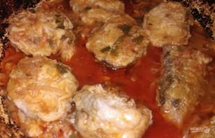 Хек под томатным маринадом - фото шаг 6