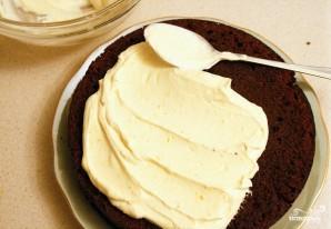 Бисквит с творожным кремом - фото шаг 10