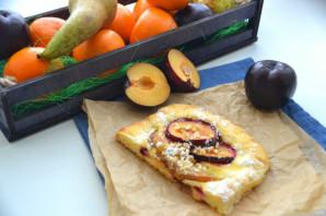 Пирог с грушами и сливами - фото шаг 15