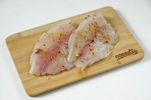 Рыба, запеченная в тесте в духовке - фото шаг 2