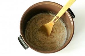 Пшеничная каша на молоке в мультиварке - фото шаг 6