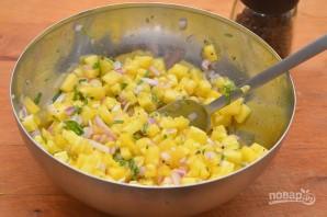 Салат из ананаса - фото шаг 6
