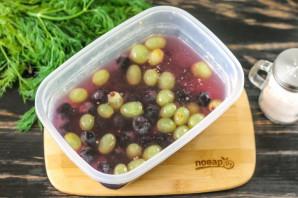 Моченый виноград с горчицей - фото шаг 6