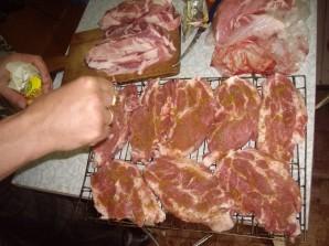 Стейк из говядины на мангале - фото шаг 1