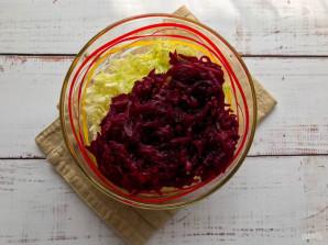 Салат из свеклы и пекинской капусты - фото шаг 3