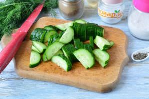 Шведский салат из огурцов - фото шаг 2